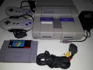 Super Nintendo Con Mario World