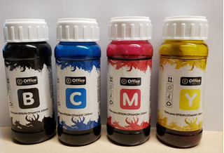 Combo De Tintas Epson T664 Alternativas Nmyc Office 200ml