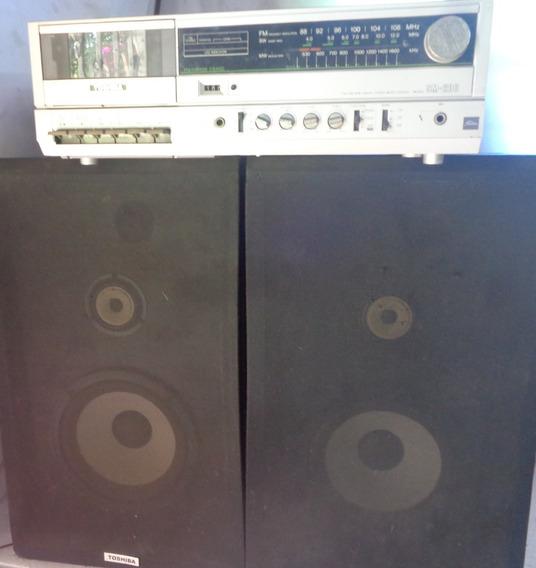 Toshiba 3x1 Modelo Sm 200 C/ Caixas Originais Funcionando