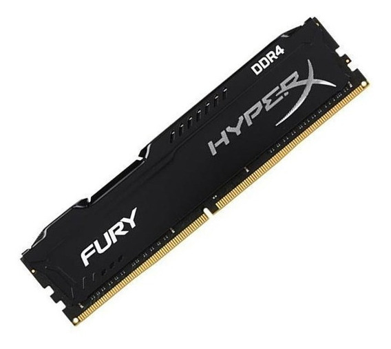 Memoria Ddr4 4gb 2400mhz Kingston Hyperx Fury Black