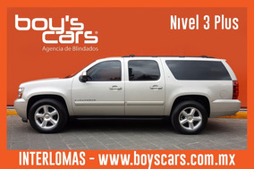 Chevrolet Suburban Lt Cubo 2007 Blindada Nivel 3 Plus