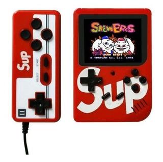 Mini Consola Sup Con 400 Juegos En 1 Retro + Mando