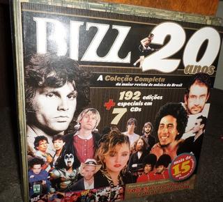Revista Bizz 20 Anos - Coleção Com 192 Edições Música Rock