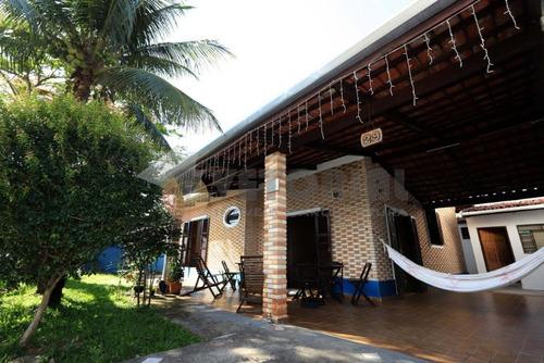 Casa Com 3 Dormitórios À Venda, 199 M² Por R$ 550.000,00 - Indaiá - Caraguatatuba/sp - Ca0575