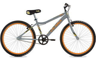 Bicicleta Olmo Mint R24 Gris Y Naranja - Thuway