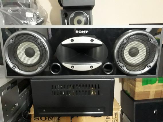 Caixa Central Sony Muteki 140w Impecável