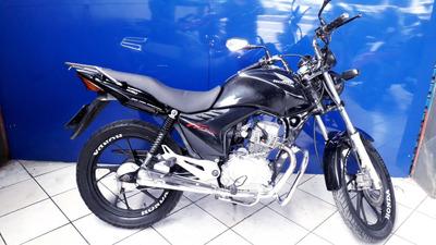 Honda Cg 160 Fan Preta 2013