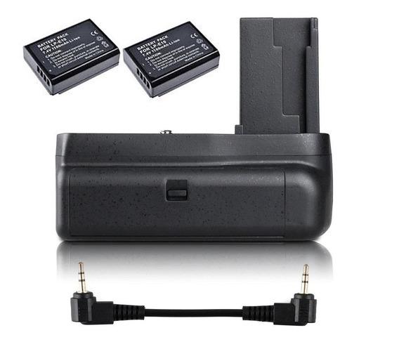 Battery Grip Canon 1100d/1200d/1300d T3/t5/t6 + 2 Baterias
