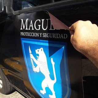 Iman Vehicular Publicidad Fajas Imantadas 50x60cm Imanes