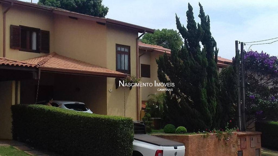 Casa Residencial À Venda, Parque Rural Fazenda Santa Cândida, Campinas. - Ca0203