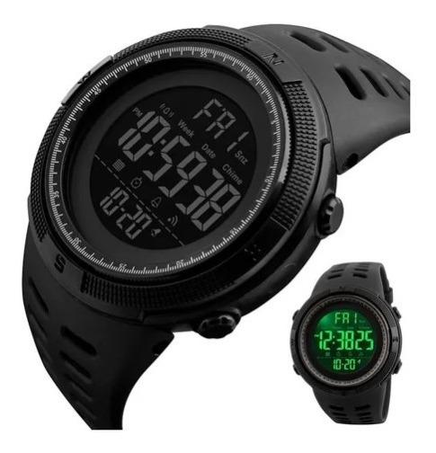 Relógio Esportivo Original Digital Prova Água Skmei Militar