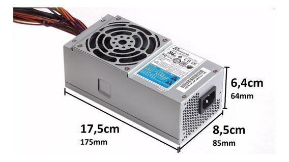 Fonte Tfx 300w Seasonic Ss-300tfx Gab Slim Mini E Dell