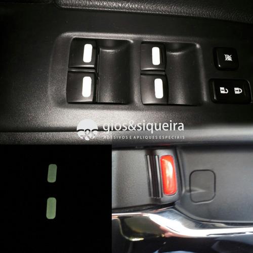 Imagem 1 de 1 de Adesivos Especiais Para Botões E Travas De Portas Tr4 Triton