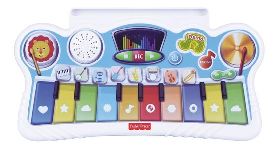 Mi Primer Piano Interactivo Fisher Price