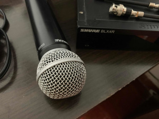 Microfono Inalmbrico Shure Sm58 Base Blx4r