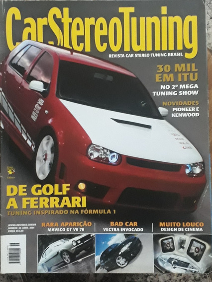 Revista Car Stereo Tuning - N° 56 - Abril De 2004