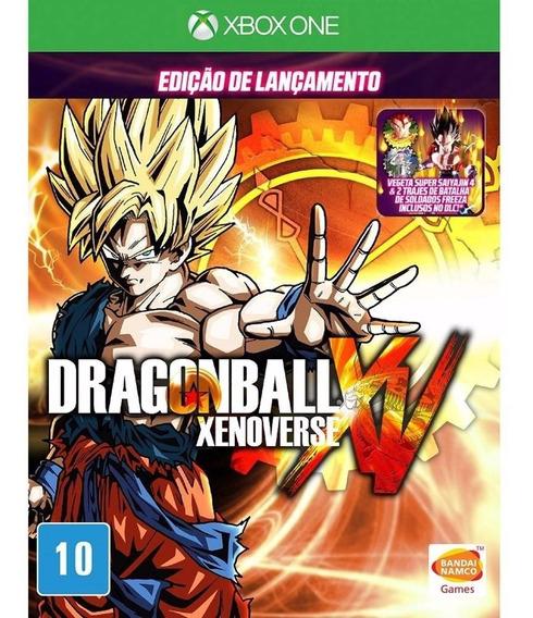 Dragon Ball Xenoverse Mídia Física Xbox One Lacrado Namco