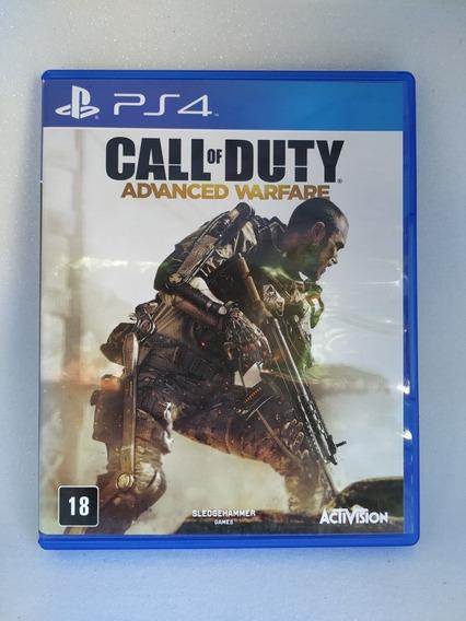 Jogo Ps4 Mídia Física - Call Of Duty Advanced Warfare Usado