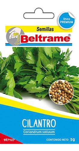 Semillas De Cilantro Aromatica Beltrame 5g Huerta