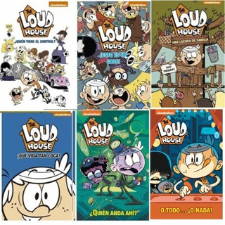 Pack The Loud House ( 6 Libros )