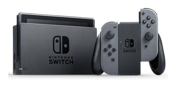 Console Nintendo Switch Desbloqueado Cinza 15 Jogos Envio Já