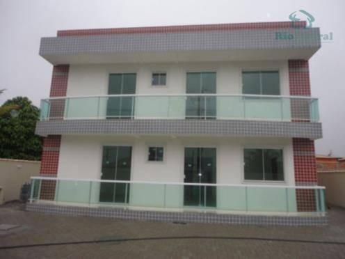 Apartamento Com 2 Dormitórios, 77 M² - Venda Por R$ 265.000,00 Ou Aluguel Por R$ 1.100,00/mês - Atlântica - Rio Das Ostras/rj - Ap0389