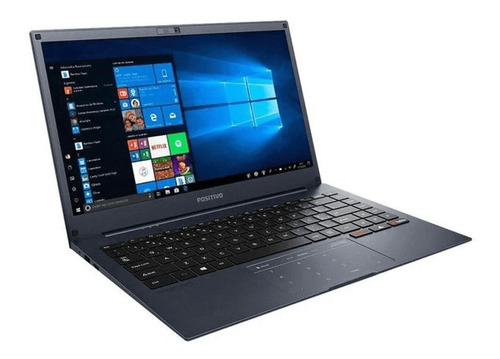 Notebook Positivo Intel Quad Core 4gb 64gb+64gb 14 Win 10
