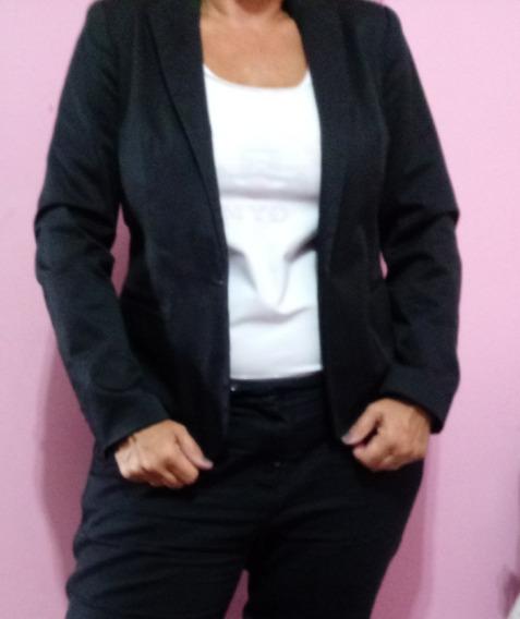 Blazer Preto Feminino Zara