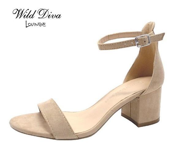Sandalias De Tacón Modelo Larina Marca Wilddiva (importadas)