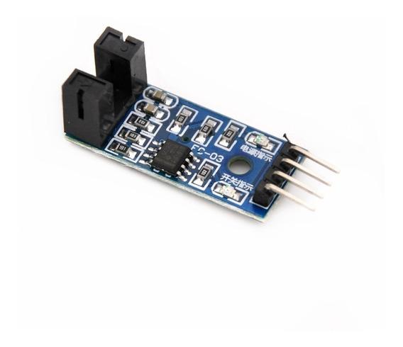 Módulo Sensor Velocidade Encoder Acoplador Óptico Arduino