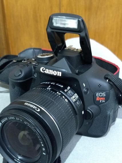 * Canon T3i Lente 18-55