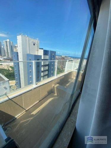 Cobertura Com 4 Dormitórios À Venda, 195 M² Por R$ 940.000,00 - Stiep - Salvador/ba - Co0068