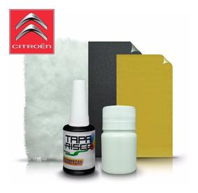Tinta Tapa Tira Risco + Kit Polimento Citroen Noir Obsidian