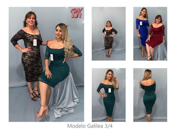 Vestido De Fiesta Modelo Galilea 3/4