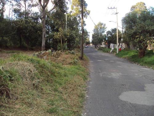 Imagen 1 de 3 de Terreno En Esquina En Xochimilco Con Drenaje,luz Agua, Plano