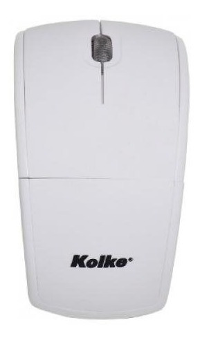 Kolke Km-100w Mouse Branco Dobravel Wireless Usb