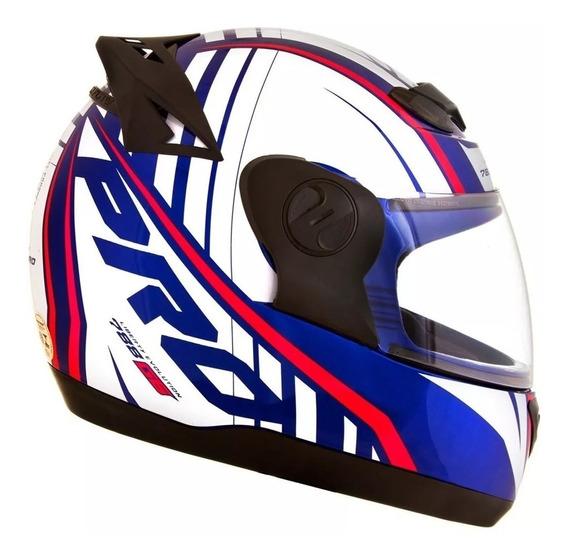 Capacete Moto Masculino Pro Tork G6 Pro Color Azul Promoção