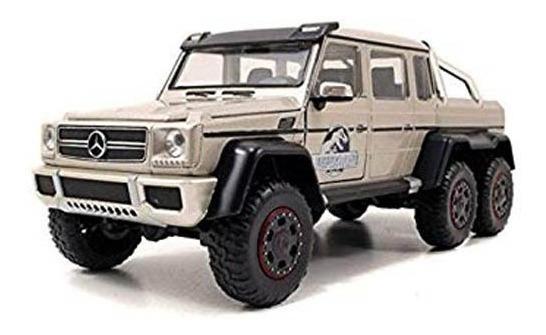 Mercedes Benz C 63 Amg 6x6 Jurassic World 1:24 Jada Toys