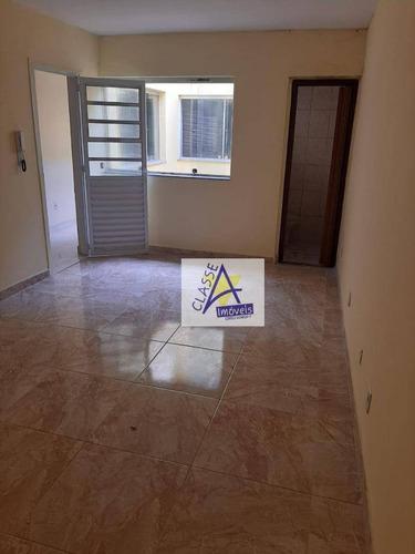Sala Para Alugar, 20 M² Por R$ 850,00/mês - Vila Bocaina - Mauá/sp - Sa0028