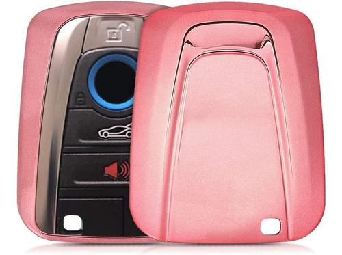 Imagen 1 de 6 de Kwmobile - Carcasa Para Llave Compatible Con Bmw, Color Oro
