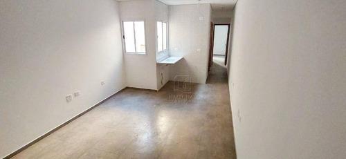 Cobertura Com 2 Dormitórios À Venda, 95 M² Por R$ 285.000,00 - Vila Francisco Matarazzo - Santo André/sp - Co4822