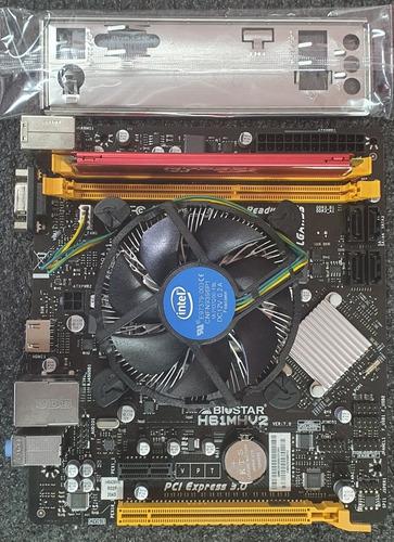 Combo Tarjeta Madre 3era Gen 1155/intel I5-3470/4gb Ram 1600