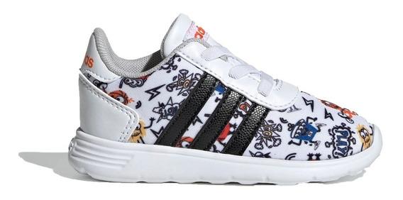 adidas Zapatilla Running Niño Inf Lite Racer Blanco
