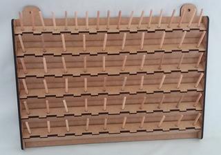 Porta Cones Linhas De Costura Mdf Com 68 Suportes 4 Unidades