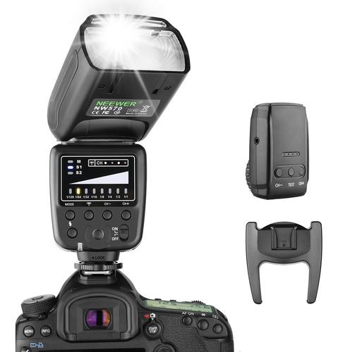 Neewer Flash Speedlite Para Canon Nikon Sony - 2.4g Wireless