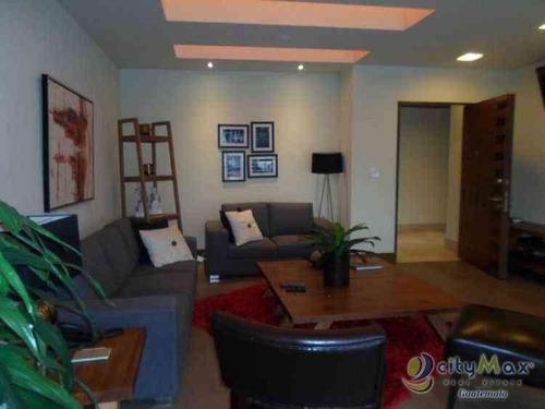 Apartamento Bien Ubicado, Rento Apartamento En Zona 10 - Paa-007-06-14