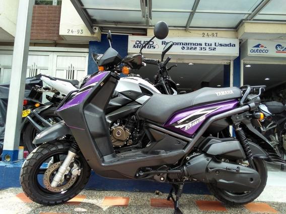 Yamaha Bws 125 Modelo 2013 Al Día ¡traspasos Incluidos!