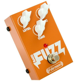 Pedal Contrabaixo Bass Fuzz Fuhrmann