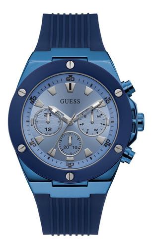 Reloj Guess Poseidon Caballero Gw0057g3 Azul