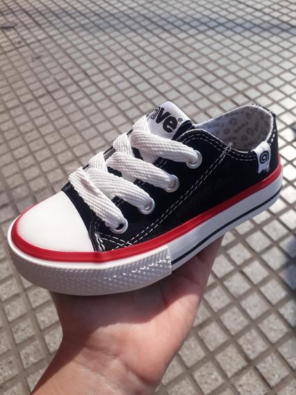 Zapatillas De Lona Rave Para Niños